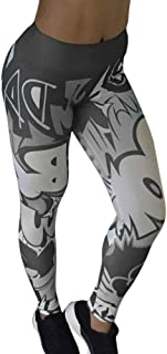 Women Yoga Pants, High Waist Leggings, Push Up Breathable Fitness Sports Leggings, Running Tights Sportswear Slim Gym Clot...