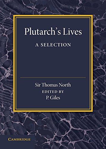 Plutarch's Lives: A Selection PDF Books