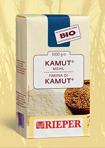 Farina biologica di grano khorasan KAMUT® Rieper 1 kg.