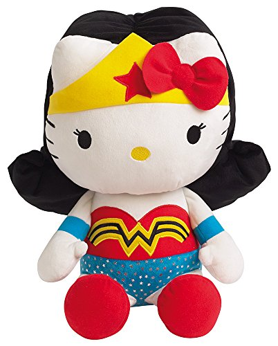 Jemini - Peluche Hello Kitty - Mujer Maravilla 40cm - 3298060228695