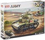Sluban-M38-B0711 Italy Army-M14/41 Medium Tank 2 in 1 (M38-B0711)