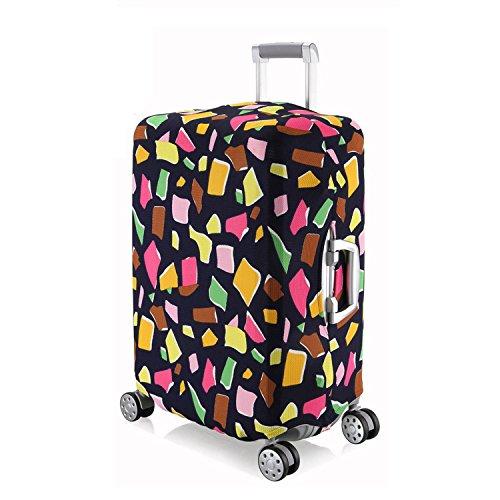 OneSky-UK Copertura del bagagliaio, pieghevole durevole protettivo lavabile pieghevole, formato del protettore della valigia misura 18-28 pollici (#2(Geometria irregolare) L(24''))