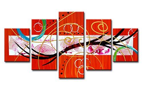 Visario-dukbild, färgglad