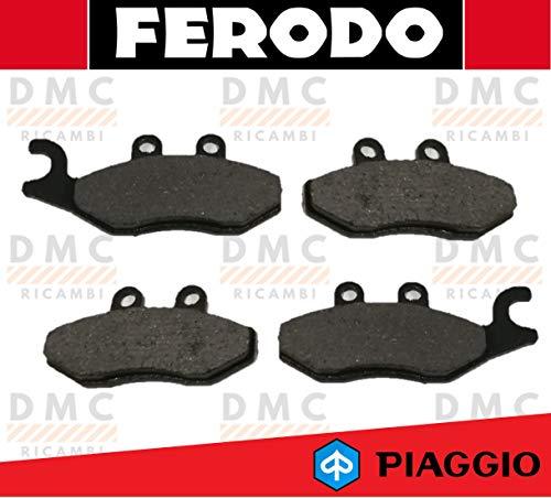 KIT PASTIGLIE PASTICCHE FRENO FERODO PIAGGIO BEVERLY 125 FINO AL 2009 - BEVERLY 200 - BEVERLY 250 DAL 2007 IN POI - BEVERLY 300 ie TOURER FINO AL 2009 FDB2142