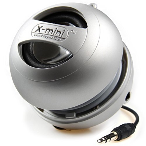 Cheapest Prices! X-Mini II XAM4-S Portable Capsule Speaker, Mono, Silver