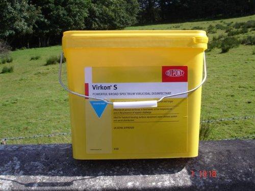 VIRKON ''S'' 10 Kg - Disinfettante universale ad ampio spettro