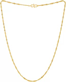 Rashi Designer Studio gold plated men and woman snake chain