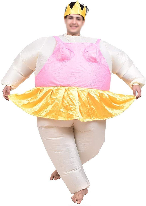 te hará satisfecho LIBILAA Ropa inflable inflable inflable del ballet de la muñeca de la historieta del traje del funcionamiento de la etapa para los hombres y mujeres (Talla   Una talla)  envio rapido a ti