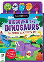 Discover the Dinosaurs Colouring & Activity Set (5-Pencil Sets)
