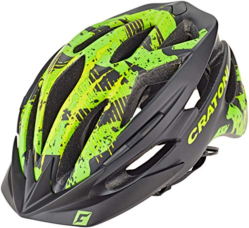 Cratoni Pacer MTB Helm schwarz/grün Kopfumfang S/M | 54-58cm 2020 Fahrradhelm
