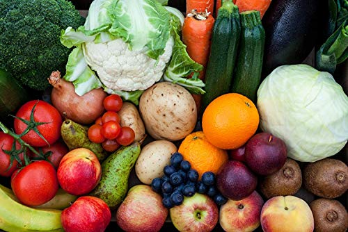 Fresh Fruit and Veg Box | Medium Sized Fruit and Vegetable Box | Fresh *Free UK Delivery* (Medium)
