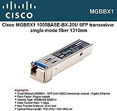 CISCO 1000Base-BX-20U SFP (mini-GBIC) Transceiver / MGBBX1 /