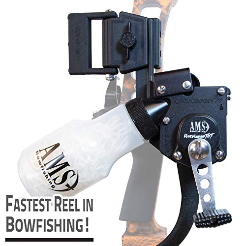 AMS Bowfishing Tournament Series Retriever TNT with 350# Spectra Line - Right Hand