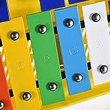 Immagine 1 muslady xilofono colorato 25 note