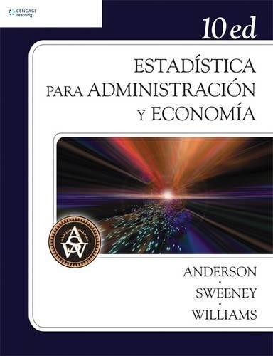 Estadística para administración y economía, 10a. Ed.