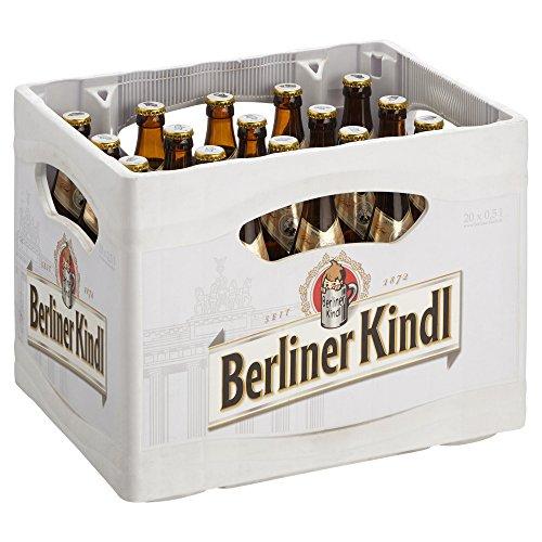 Berliner Kindl Bock Hell MEHRWEG, (20 x 0,5 l)