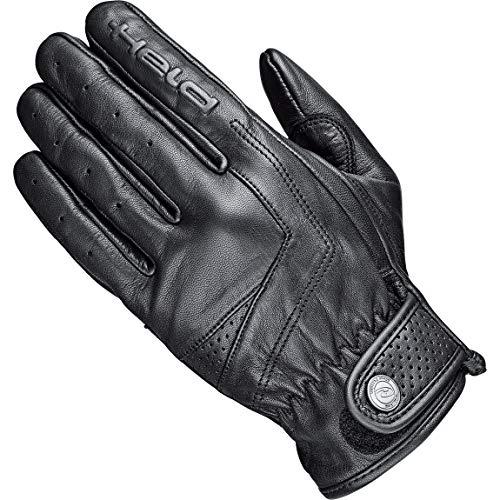 Held Motorradhandschuhe kurz Motorrad Handschuh Classic Rider Lederhandschuh kurz schwarz 11, Unisex, Chopper/Cruiser, Ganzjährig