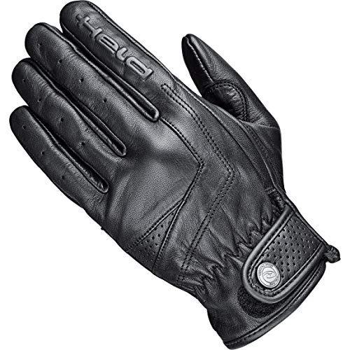 Held Motorradhandschuhe kurz Motorrad Handschuh Classic Rider Lederhandschuh kurz schwarz 12, Unisex, Chopper/Cruiser, Ganzjährig