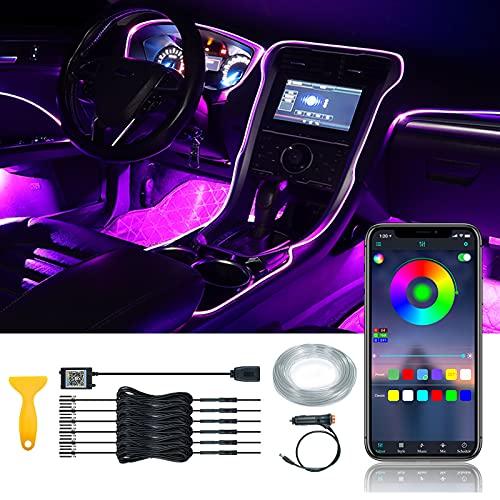 Car Interior LED Strip Light 6 in 1 Car...