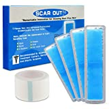 ScarOut! Silicone Scar Sheets for Scar Removal (2 Month Supply) – C Section