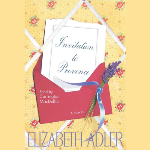 Invitation to Provence audiobook cover art