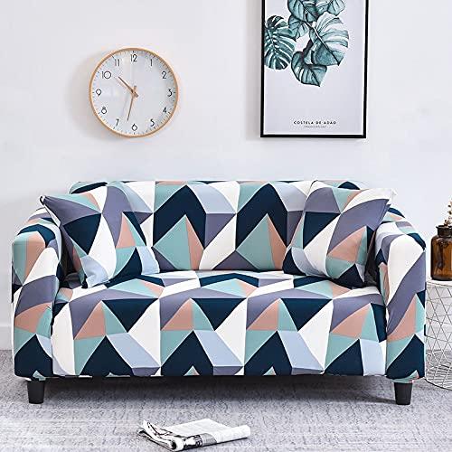 Funda de sofá elástica a Cuadros Fundas de sofá elásticas para Sala de Estar Funda para Silla de sofá Funda para sofá Fundas sofás Chaise Longue A25 4 plazas