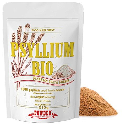 PSYLLIUM BIO EN POUDRE * 30 portions /210 g * Source naturelle de fibres, effet laxatif, protecteur sur la muqueuse intestinale * Garantie Satisfait ou Rembours * Fabriqué en France