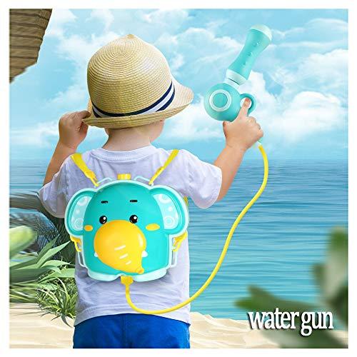 Children's Rugzak Waterpistool Kinderen Strand Speelgoed Voor Mannen En Vrouwen Uittrekbare Nevel Zomer Buitenbad Speelgoed, High-Capacity Spuitpistool,Blue