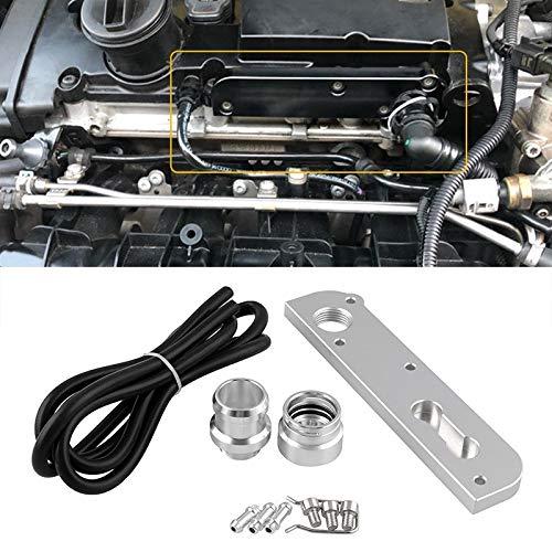 EUYBDZSW Adaptador de vacío de la válvula de Alivio de la válvula de la válvula de la modificación del automóvil, for los Motores Volkswagen Golf/Audi 2.0T FSI