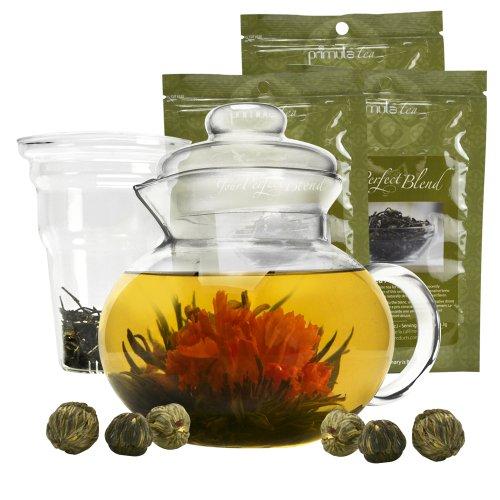primula flowering tea gift set - 4