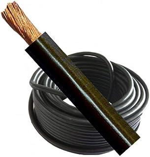 Soldadura Cable/baterías de Tierra 230AMP 25mm negro