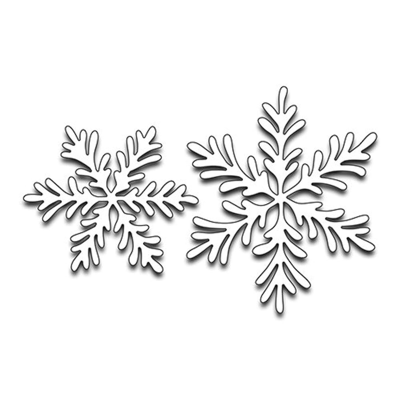 Penny Black Creative Metal die, 51-274,Snowflake Duo