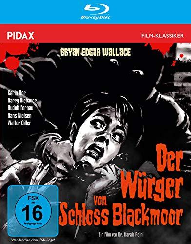 Bryan Edgar Wallace: Der Würger von Schloss Blackmoor / Spannender Gruselkrimi mit Starbesetzung inkl. Hörspielfassung (Pidax Film-Klassiker) [Blu-ray]