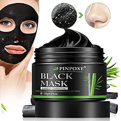 Blackhead Mask, Charcoal Face Mask, Peel off Mask, Black Mask, Blackhead Removal Mask, Charcoal Face Mask, Deep Cleaning Face Nose Activated Exfoliator Mask