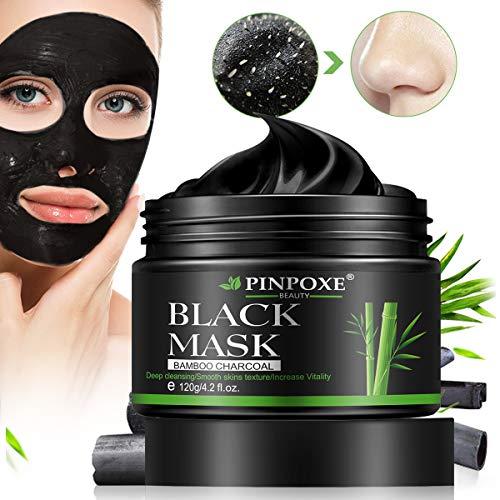 Mitesser Maske, Peel off Maske, Blackhead Remover Maske, Blackhead Maske, Gesichtsmasken, Black Mask, Anti mitesser maske und Porenreinige, Tiefenreinigung Black face mask,120g