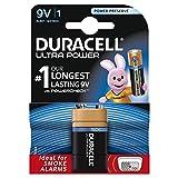 Duracell Ultra 9V Alkaline Batteries, Pack of 1