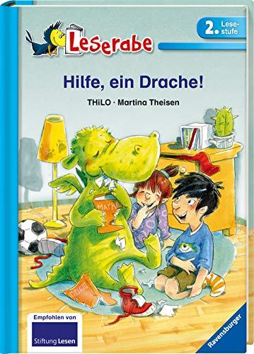 Hilfe, ein Drache! - Leserabe 2. Klasse - Erstlesebuch für Kinder ab 7 Jahren (Leserabe - 2. Lesestufe)