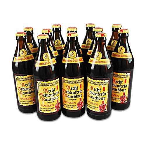 Aecht Schlenkerla Rauchbier (12 Flaschen à 0,5 l / 5,1 % vol.) inc. 0.96€ MEHRWEG Pfand