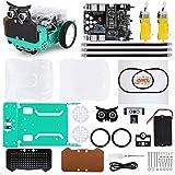 ELEGOO Arduino Owl Kit de Voiture robotique avec Nano V4, Module de Suivi de Ligne, capteur photoélectrique Infrarouge, capteur à ultrasons, etc. Kit de Voiture Jouet éducatif