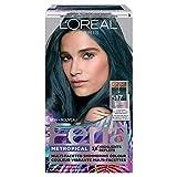 L'Oreal Paris Feria Metropical Permanent Hair Color, 1 Ea, Bright Teal #517, 1