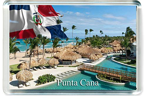 GIFTSTICY D316 Punta Cana Refrigerator Magnet The Dominican Republic Travel Fridge Magnet