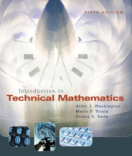 Introduction to Technical Mathematics with MyMathLab Student Access Kit (5th Edition)