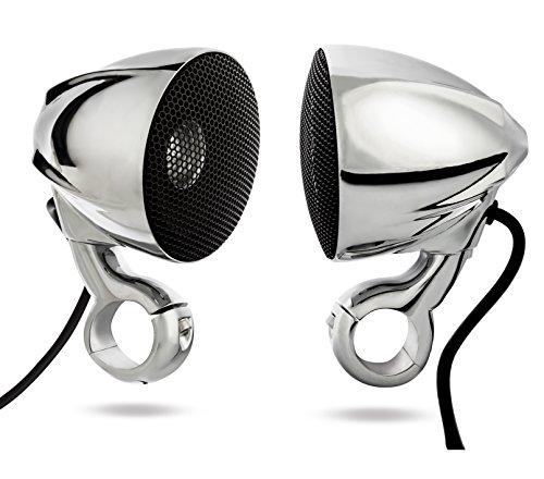 NOAM N3C - ATV/Motorcycle Waterproof Chrome Speakers