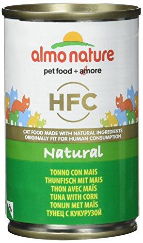 almo nature Classic Aliment pour Chat au Thon et maïs 140 g