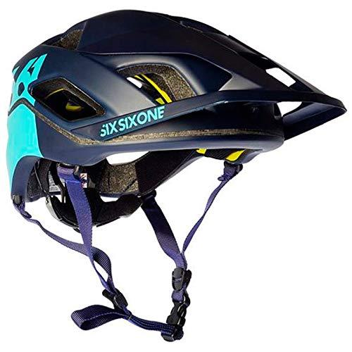 SIXSIXONE EVO Am Patrol - Casco de Bicicleta - Azul Contorno