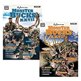 Realtree Monster Bucks XXVII Volume 1, Volume 2 or Combo Pack (2019 Released) - Deer, Elk, Big Game, Hunting Video DVD Collection Production
