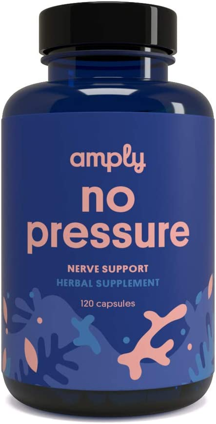 Amply Blends No Popularity Pressure Surprise price Herbal Supplement Support Nerve C