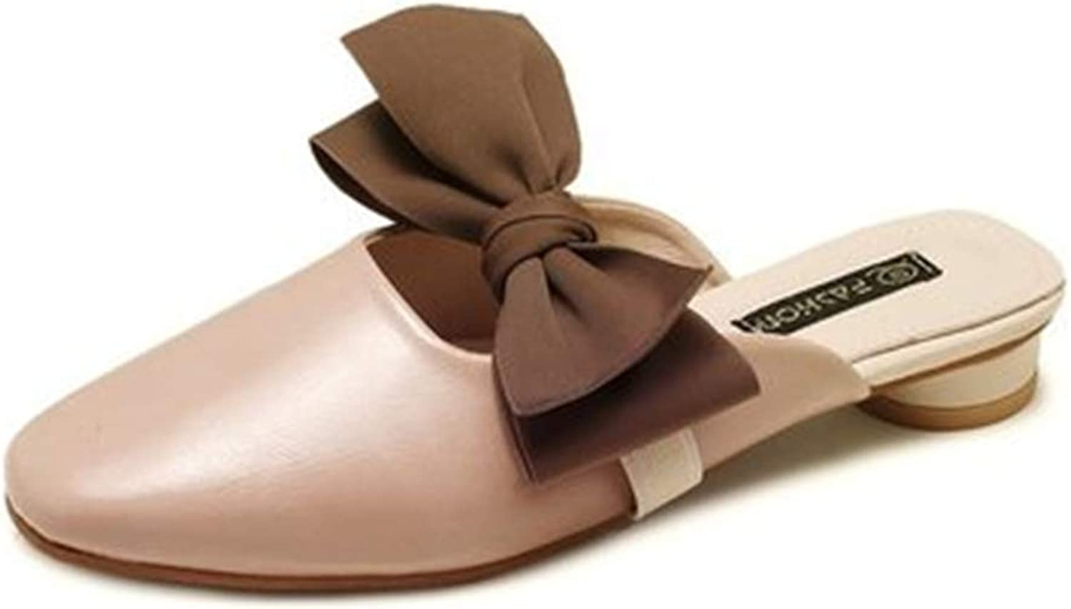 Gusha Women's Muller Flat Casual shoes Summer Sandals Walking shoes Comfortable