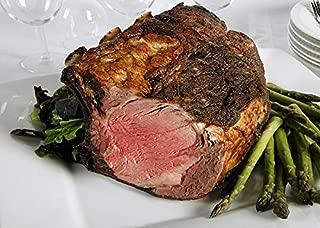 Chicago Steak Ribeye Roast - Have a Taste of Delicious Prime Beef! – USDA Prime Dry Aged Bone-In Heart Rib Roast Beef (8-9 Lbs.) - Gourmet Food Steak Set –PSG013 PRIMED Aged Steak