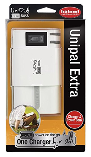 Hahnel HL Unipal Extra Caricatore Universale, Bianco